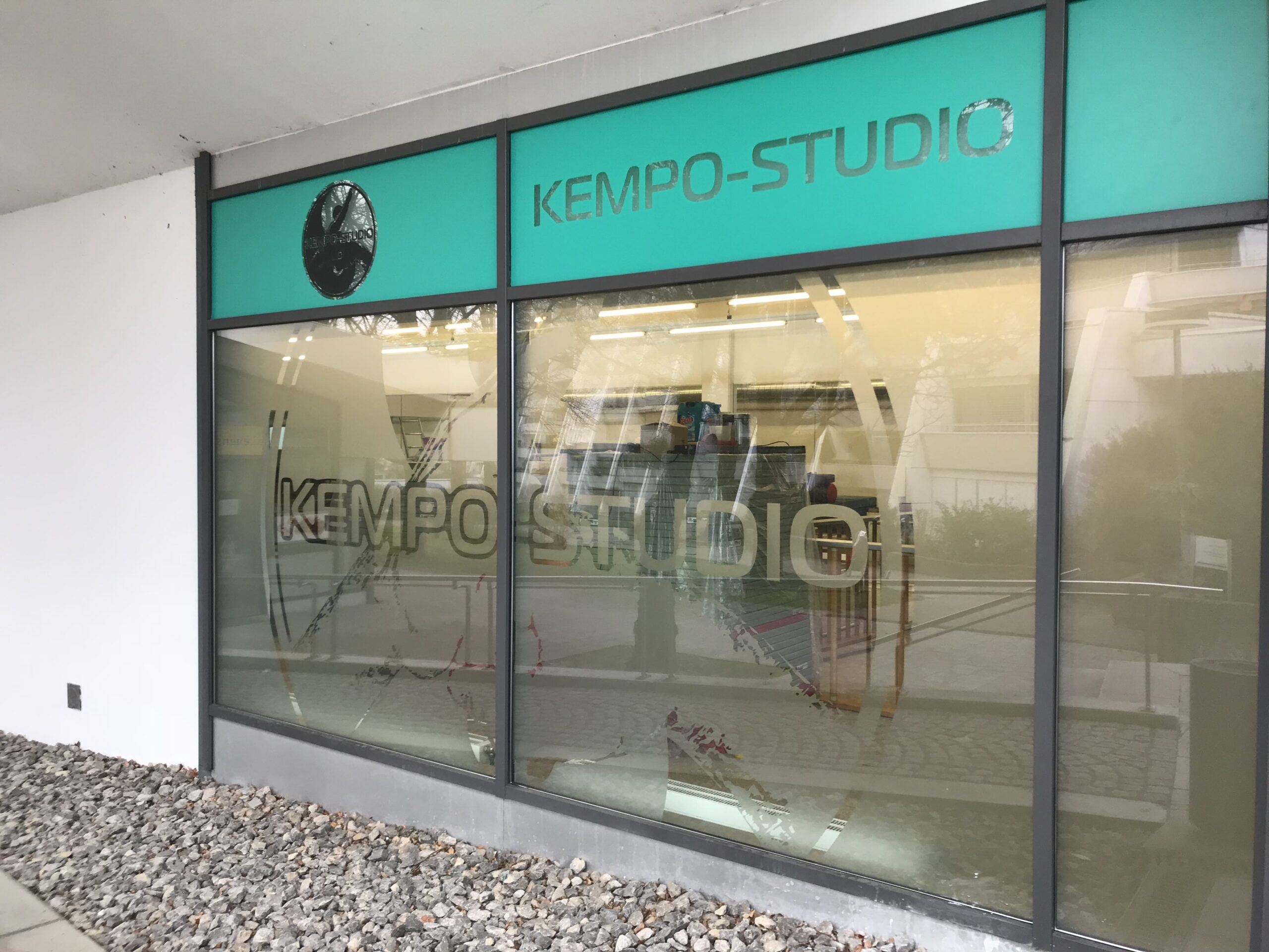 Aussenwerbung KEMPO-STUDIO