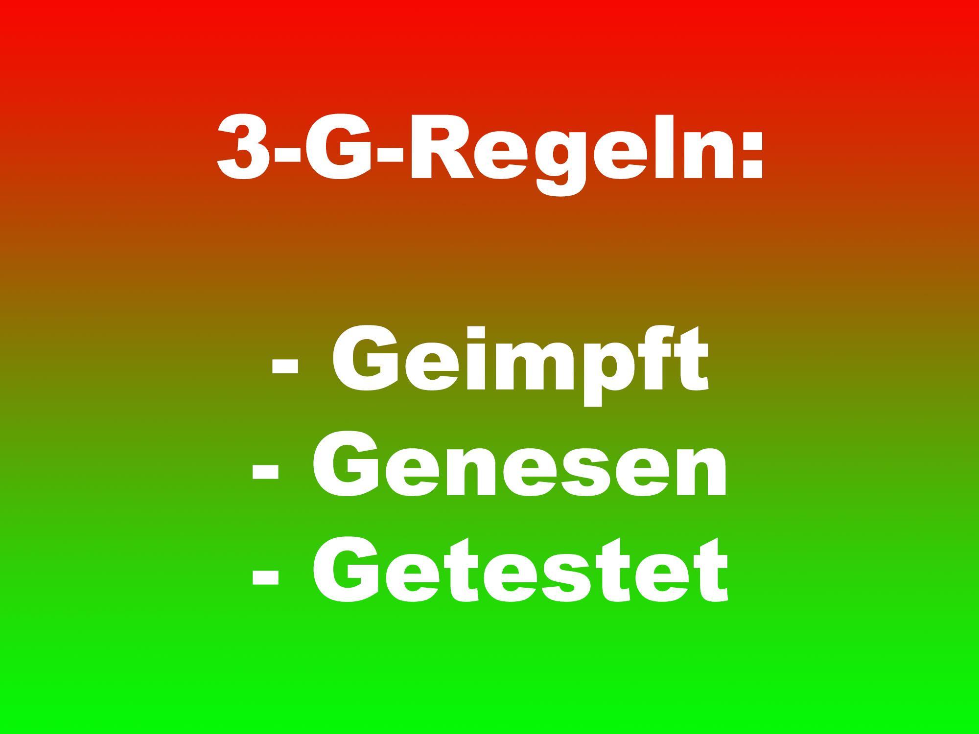 3-G-Regeln